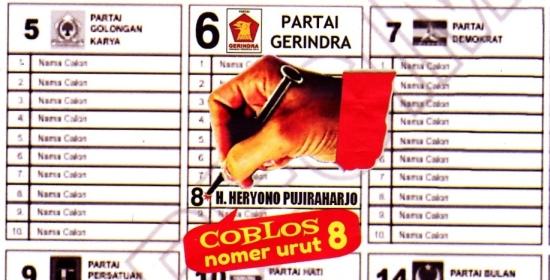 Caleg DKI Dapil 6 No.urut 8 , Heryono Puriraharjo