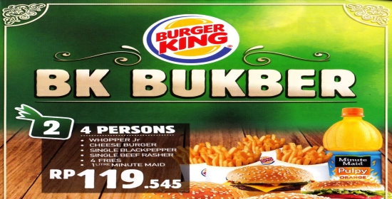 Burger King - BK Bukber