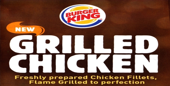 Burger King Grilled chicken