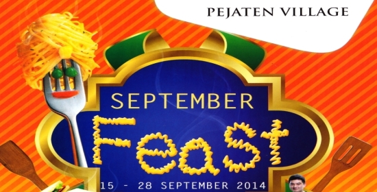 Pejaten Villa September Feast_